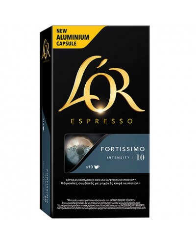 CAFE L-OR FORTISSIMO 10CAP...