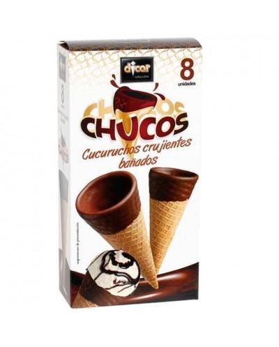 CUCURUCHOS BAÑADOS CHOCO...