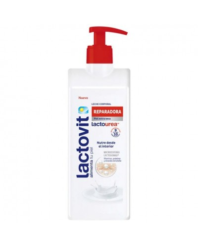 BODY MILK LACTOVIT UREA 400ML
