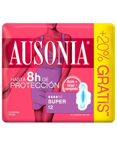 COMPRESAS AUSONIA SUPER 12UD