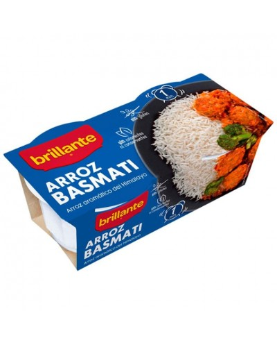 ARROZ BASMATI BRILLANTE VAS...