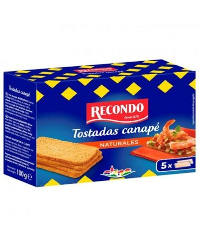 TOSTADAS CANAPE RECONDO 100G