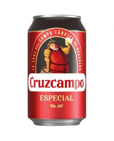 CERVEZA CRUZCAMPO ESPECIAL...