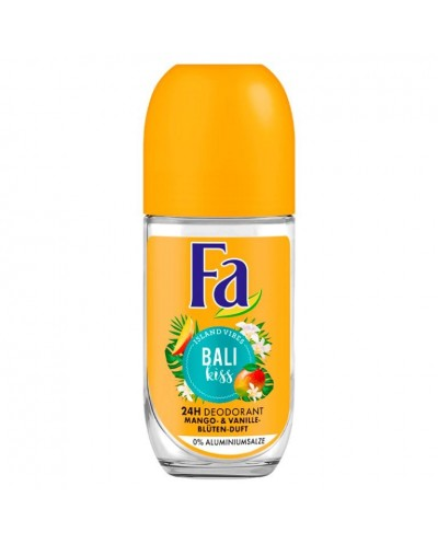 DEO FA BALY KISS ROLL ON 50ML