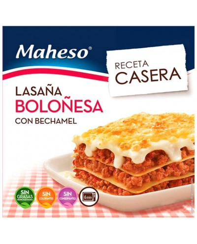 LASAÑA BOLOÑESA MAHESO CON...