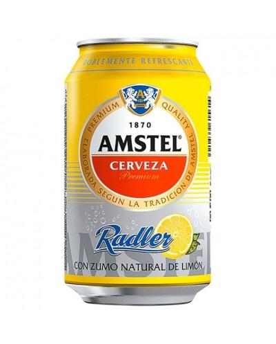 CERVEZA AMSTEL RADLER 33CL